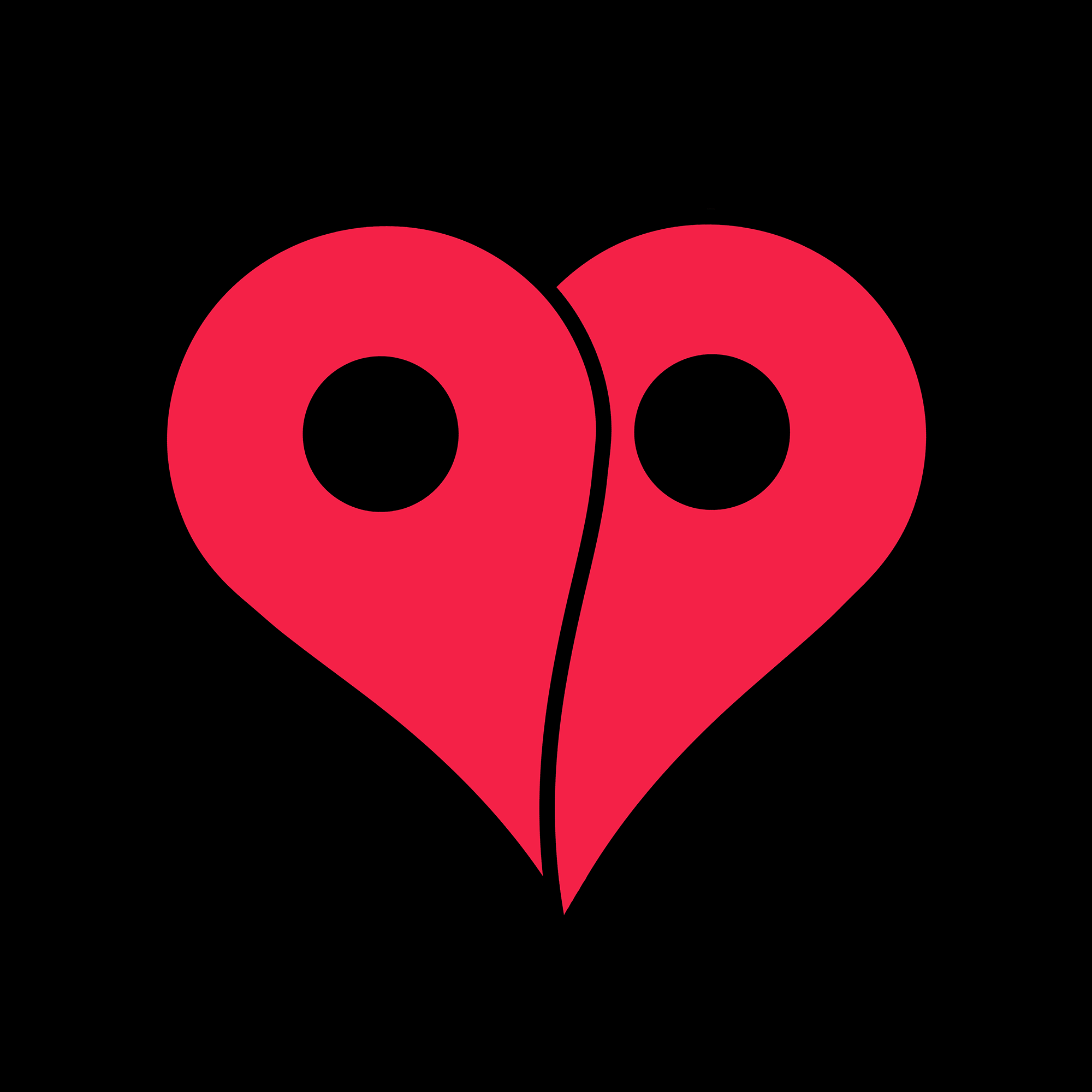GOOGLE PIN HEART